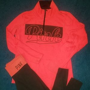 Pink outfit size xs